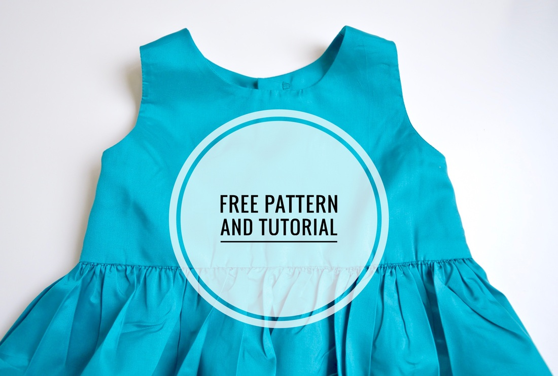 Simple Girls Dress Pattern Simple Design